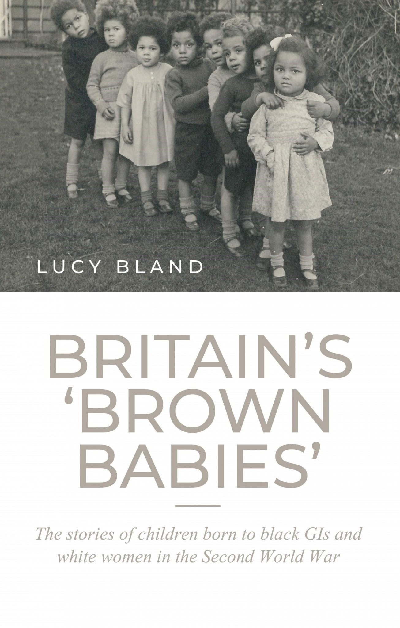 Front Cover of Britain's Brown Babies Book