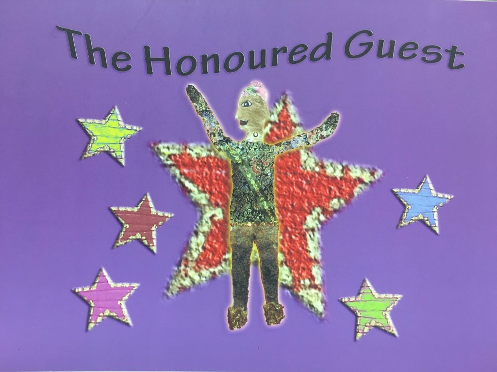 Front cover of the book The Honoured Guest